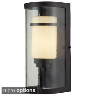 Caldwell Oiled Bronze 1-light LED Outdoor Sconce