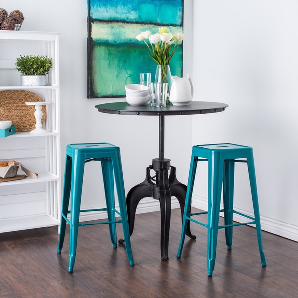 Tabouret 30 Inch Peacock Bar Stools Set Of 2 15916885