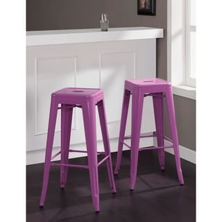 Tabouret 30-inch Orchid Bar Stools (Set of 2)