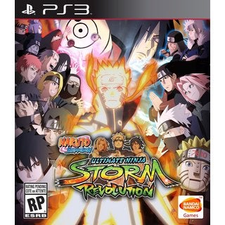 PS3 - Naruto Shippuden: Ultimate Ninja Storm Revolution