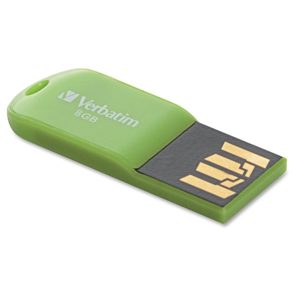 Verbatim 8GB Micro USB Flash Drive - Eucalyptus Green