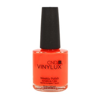 CND Vinylux Electric Orange Nail Lacquer