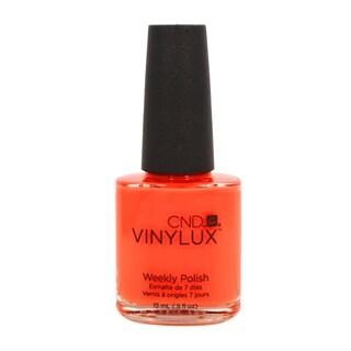 CND Vinylux Electric Orange Nail Lacquer