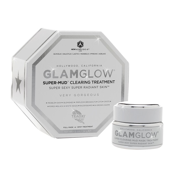 Glamglow Supermud Clearing Treatment 1.2-ounce Mud Mask 12231106