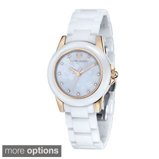 Klaus Kobec Women's 'Vesta' Stainless Steel Watch