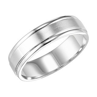 Cambridge Platinum Classic 4mm Engraved Wedding Band