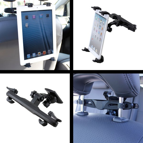 Gearonic Car Back Seat Headrest Mount Holder for Universal Tablets
