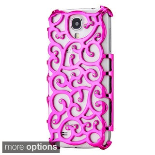 Gearonic Bling Rhinestones Hollow PC Hard Back Case for Samsung Galaxy S4 i9500