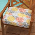 Tango Bloom 19-inch Indoor/ Outdoor Corded Chair Cushion
