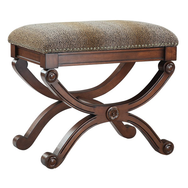 Taji Accent Stool Overstock Shopping Great Deals On