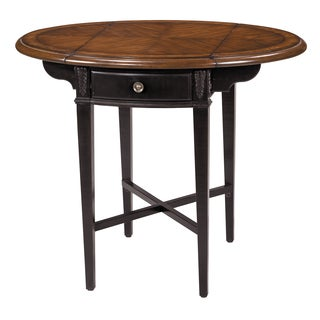 Avery Round Drop Leaf Side Table
