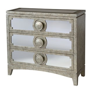 Carlton 3-drawer Mirrored Accent Chest