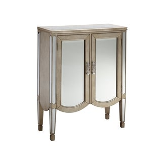 Lincoln 2-door Mirrored Accent Cabinet