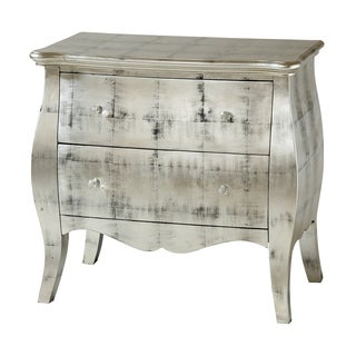 Ellison 2-drawer Metalic Silver Accent Chest