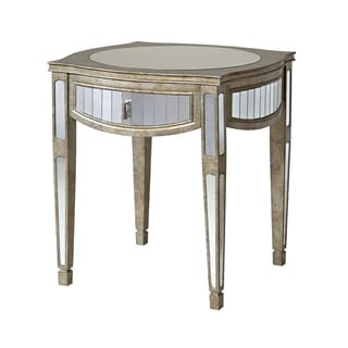 Lancaster 1-drawer Mirrored Accent Table