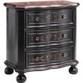 Will 3-drawer Vine Motif Accent Chest