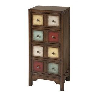 Brennan Multicolored Apothecary Styled Accent Chest
