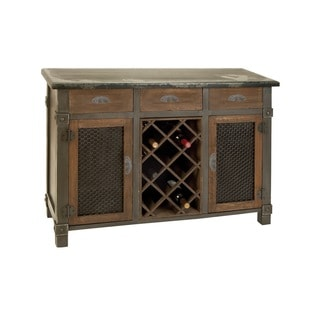Fantastic Wood Wine and Bar Cabinet