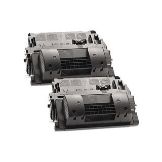 HP CE390A (HP 90A) Remanufactured Compatible Black Toner Cartridge (Pack of 2)
