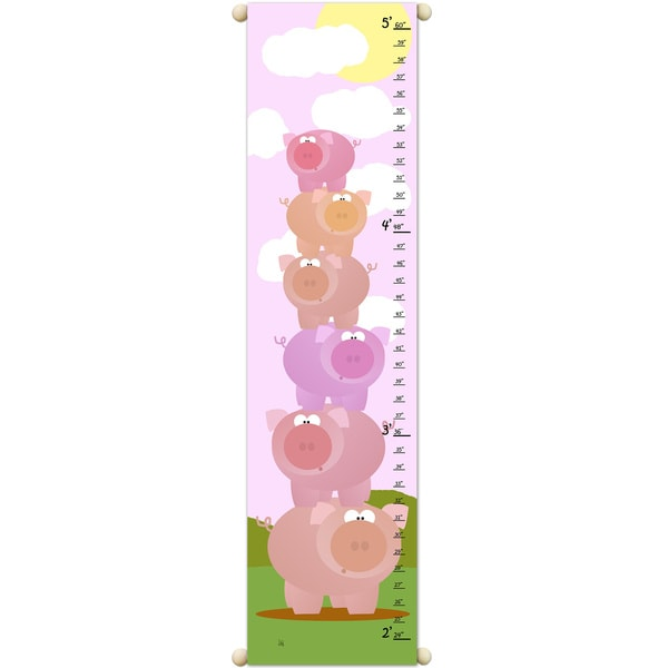 Stacked Pigs Growth Chart