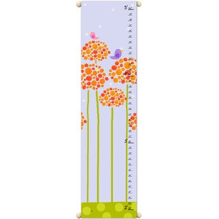 Orange Flowers Growth Chart