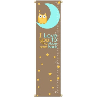 'I love You to the Moon' Growth Chart