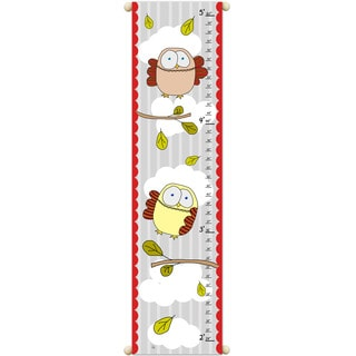 Owls on Red Growth Chart