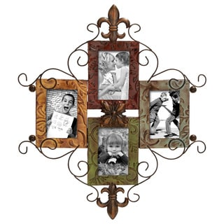 4-opening Metal Photo Frame