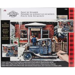 Paint By Number Kit 16 X20 - Rural Post Office