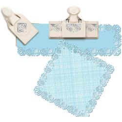 Martha Stewart Punch-Around-The-Page Large Combo - Butterfly Lace
