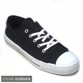 Blue Men's 'M-Warren' Canvas Sneakers