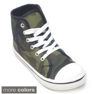 Waky Kids 'K-Hilife' High-top Camo Sneakers