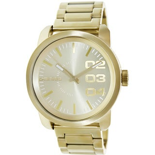 Diesel Men's Goldtone Stainless Steel Quartz Watch