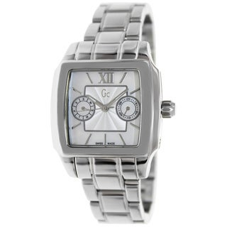 Guess Women's Stainless Steel Quartz Mother-of-Pearl Dial Watch