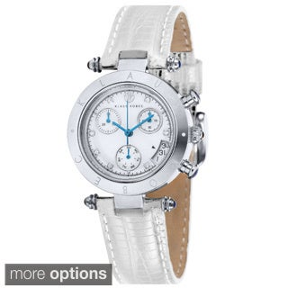 Klaus Kobec Women's Couture Leather Watch