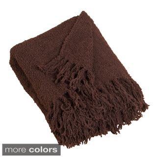 Woven Plush Throw