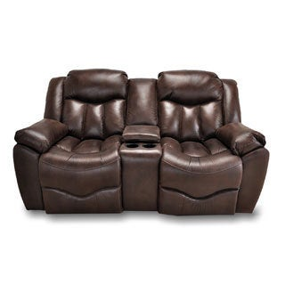 Franklin Hendrix Tobacco Dual Reclining Loveseat