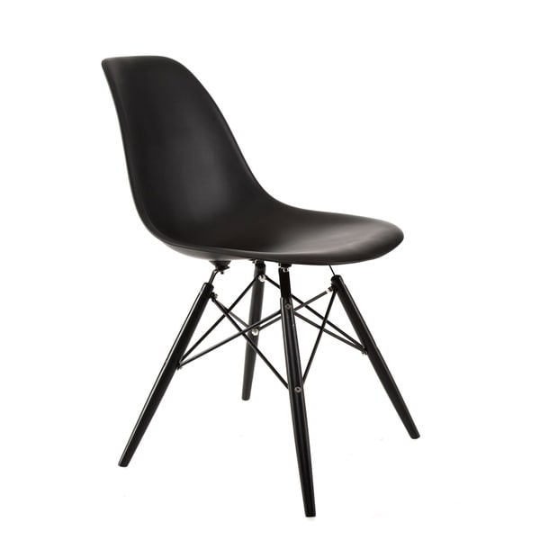 American Atelier Living Banks Black Seat Chair