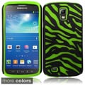 BasAcc Zebra Skin Case for Samsung Galaxy S4 Active i537/ i9295