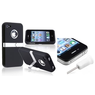INSTEN Headset Dust Cap/ Phone Case Cover for Apple iPhone 4/ 4S