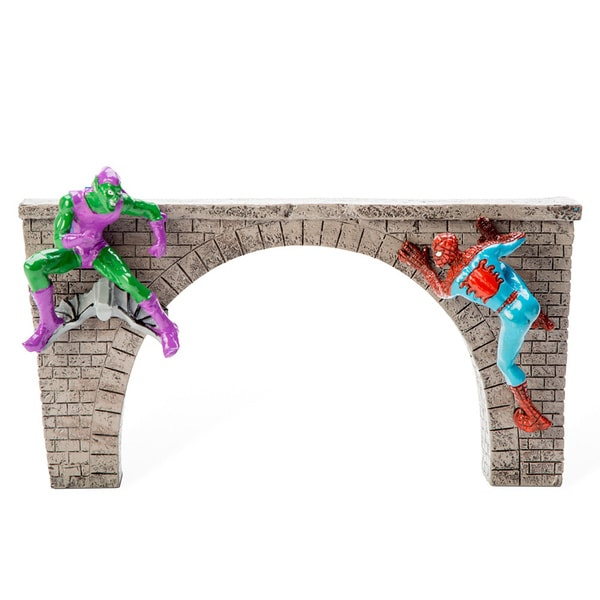 Marvel Spider-Man and Green Goblin Bridge Ornament