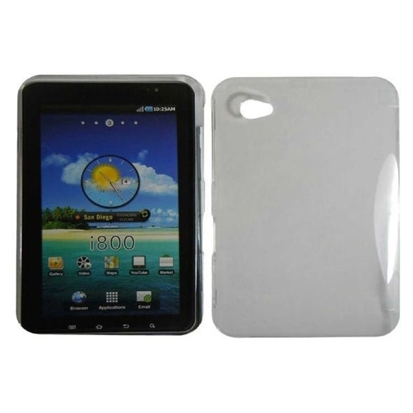 INSTEN Premium Clear Hard Plastic PC Snap-on Phone Tablet Case Cover for Samsung Galaxy Tab 7-inch GT-P1000