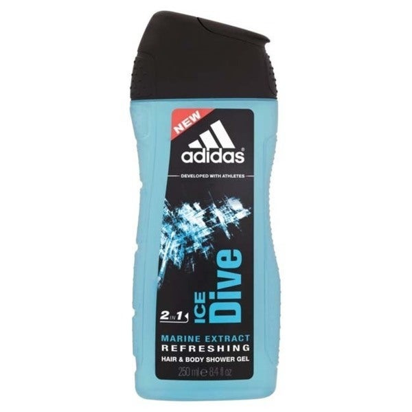 Adidas Men's 'Ice Dive' Marine Extract Refreshing 2-in-1 Shower Gel