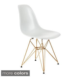 Banks Chair with Gold Legs