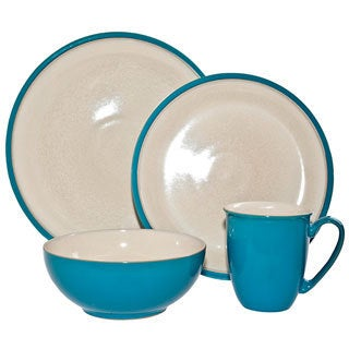 Denby Turquoise Dine 4-piece Place Setting Set