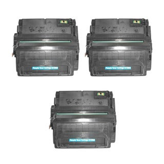 HP Q5942A (HP 42A) Compatible Black Laser Toner Cartridge (Pack of 3)
