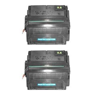 HP Q5942A (HP 42A) Compatible Black Laser Toner Cartridge (Pack of 2)