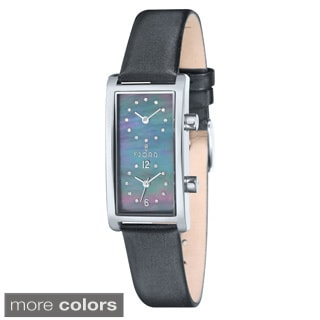 Fjord Women's 'Emma' Leather Watch