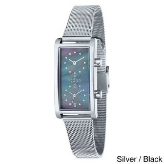 Fjord Women's 'Emma' Stainless Steel Mesh Watch