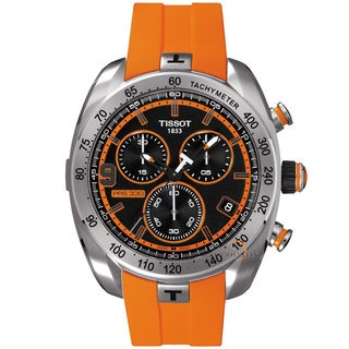 Tissot Men's 'Tony Parker' Limited Chronograph Orange Watch